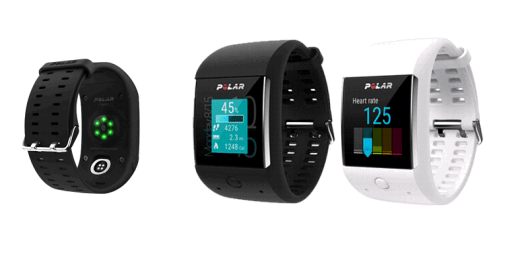 Die neue Polar M600 SMARTWATCH verbindet Activity Tracking und Smartwatch optimal. (Bild: © Polar Electro Europe AG)
